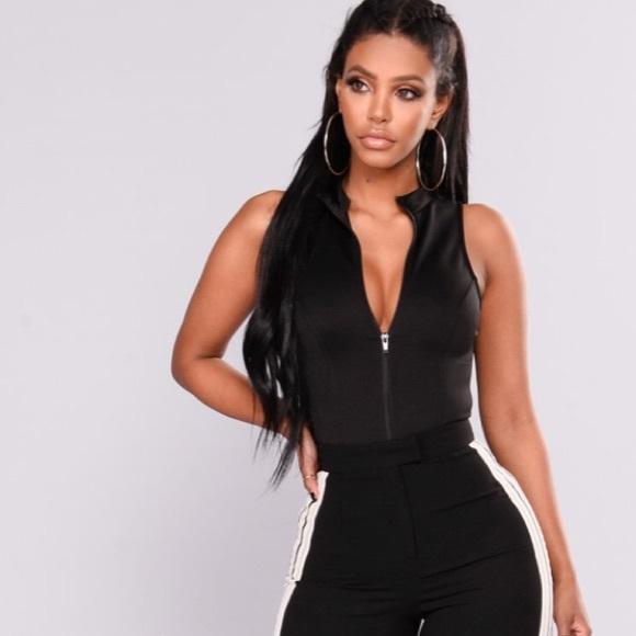 460eac70a33 Fashion Nova 1X Zip Bodysuit Black NWT. NWT. Fashion Nova.  M_5b52b0e3d6716ad9e5ca24ac. M_5b52b0eebf7729c4b344d596.  M_5b52b0e5b6a942b7c4a57ead